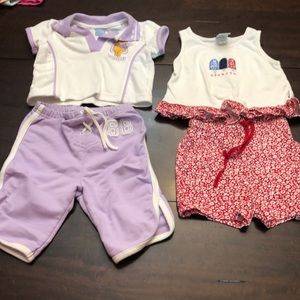 Bundle of 2 outfits.  Size 12 months.